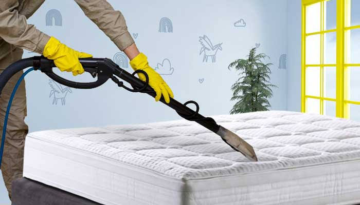 cuci spring bed